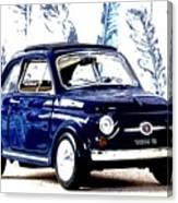 Bella Macchina 8 - Fiat 500 F Canvas Print