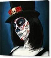 Bella Muerte Canvas Print
