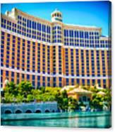Bellagio Hotel And Casino Canvas Print