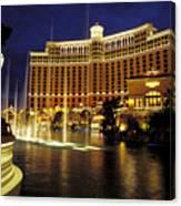 Bellagio Hotel In Las Vegas Canvas Print