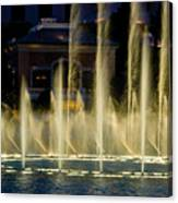 Bellagio Light Show - Lasvegas Canvas Print