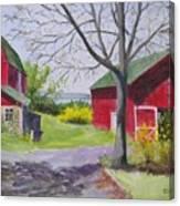 Belle Cornell's Lake View Canvas Print