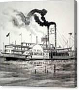 Belle Of Memphis Canvas Print