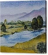 Bellinger Valley In Spring Canvas Print
