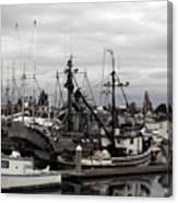 Bellingham Bay Ship Yard Canvas Print