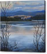 Bellingham In Winter Canvas Print