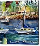 Bellingham Washington The Beauty Canvas Print