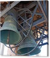Bells Of Torre Dei Lamberti - Verona Italy Canvas Print