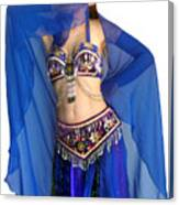 Belly Dance Modeling. Sofia Of Ameynra Canvas Print