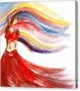 Belly Dancer 2 Canvas Print