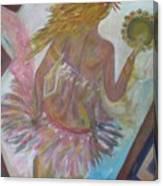 Belly Dancer Flashdance Canvas Print