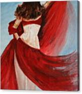 Belly Dancer Canvas Print