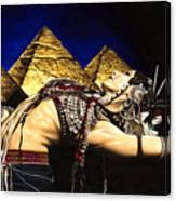 Bellydance Of The Pyramids - Rachel Brice Canvas Print