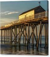 Belmar Fishing Pier Canvas Print