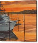 Belmar Sunset Canvas Print