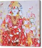 Beloved Lakshimi Canvas Print
