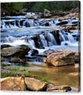 Below Toccoa Falls Canvas Print