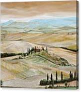 Belvedere - Tuscany Canvas Print