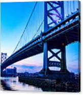 Ben Franklin Bridge Canvas Print