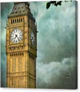 Ben In The Clouds Canvas Print