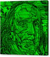 Ben In Wood Green Canvas Print