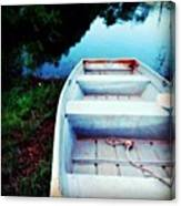 Rusted Boat Canvas Print
