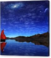 Beneath A Jewelled Sky Canvas Print
