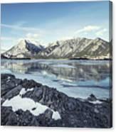 Beneath The Frozen Sky Canvas Print