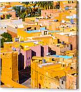 Beni Isguen Houses From The Watch Tower Canvas Print