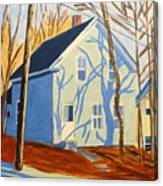 Bennett Street Houses Canvas Print