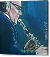 Benny Goodman Canvas Print