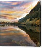 Benson State Recreation Area In Fall Canvas Print