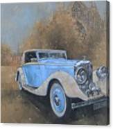 Bentley By Kellner Canvas Print