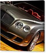 Bentley Continental Gt Canvas Print
