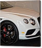 Bentley Continental Gt V8s Canvas Print