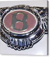 Bentley In Pink Canvas Print