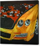 Bentley W66gts Canvas Print