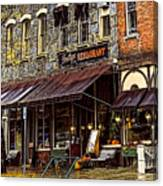 Bentleys Restaurant Woodstock Vermont Canvas Print
