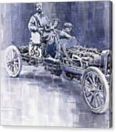 Benz 60hp Targa Florio Rennwagen 1907 Canvas Print