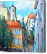 Bergen's Yellow-house District Canvas Print