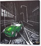 Berkley Sports Car Canvas Print