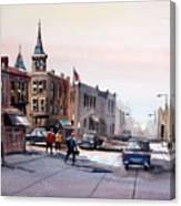 Berlin - Main Street Canvas Print