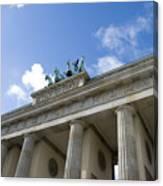 Berlin Brandenburger Tor Canvas Print