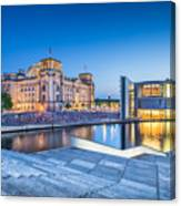Berlin Government District Canvas Print