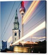 Berlin - Karl-liebknecht-strasse Canvas Print