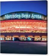 Berlin - Mercedes-benz Arena Canvas Print