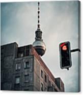 Berlin-mitte Canvas Print