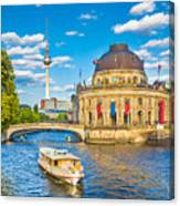 Berlin Museum Island Canvas Print