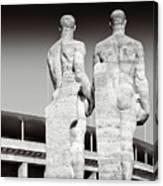 Berlin Olympiastadion - Berlin Olympic Stadium Canvas Print