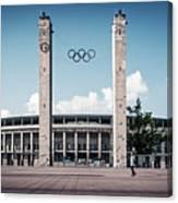 Berlin - Olympic Stadium Canvas Print